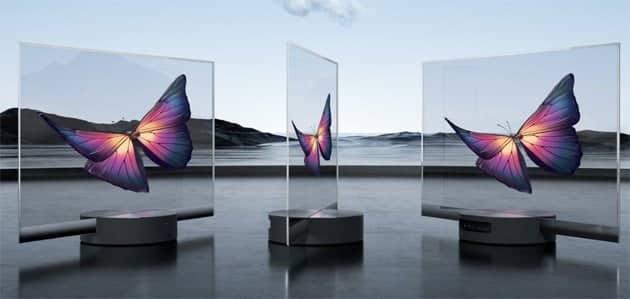 Mi Lux TV, la TV trasparente di Xiaomi