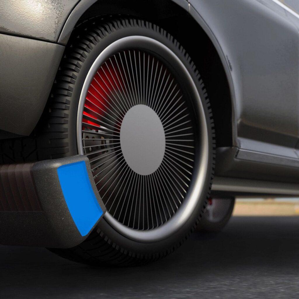 Microplastiche dagli pneumatici Tyre Collective