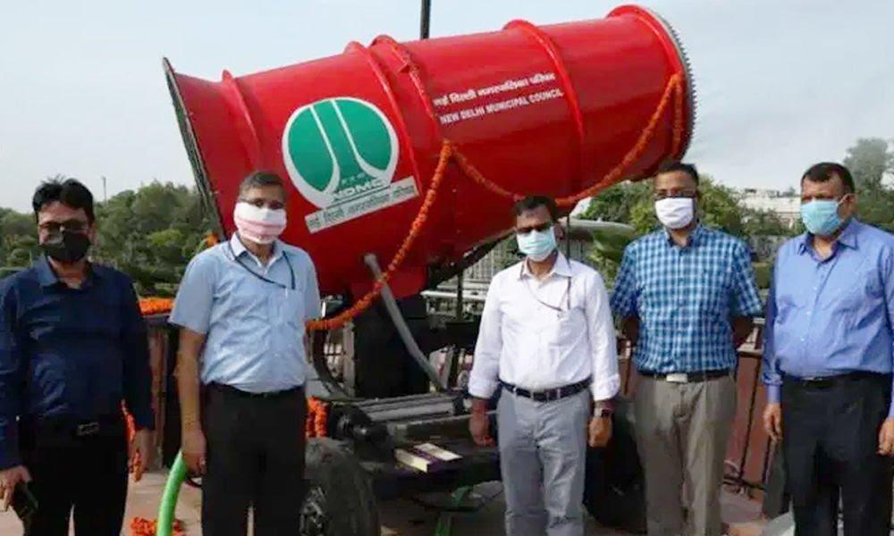 Inquinamento atmosferico: il cannone anti-smog