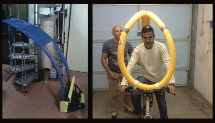 Auvent parapluie BikerTop pour vélos