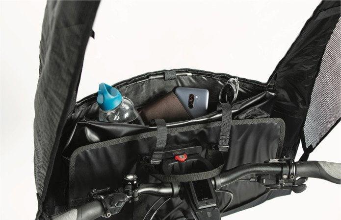 Parapluie instantané BikerTop pour vélos