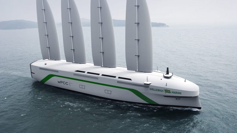 Oceanbird, navire cargo naviguant