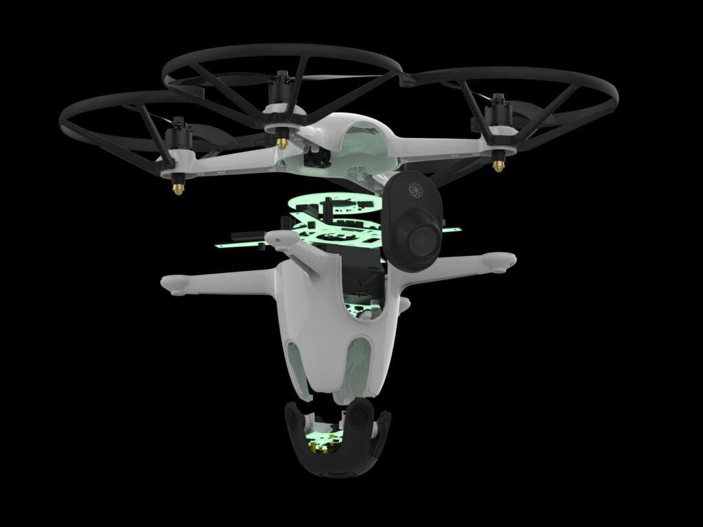 drone bee da guardia