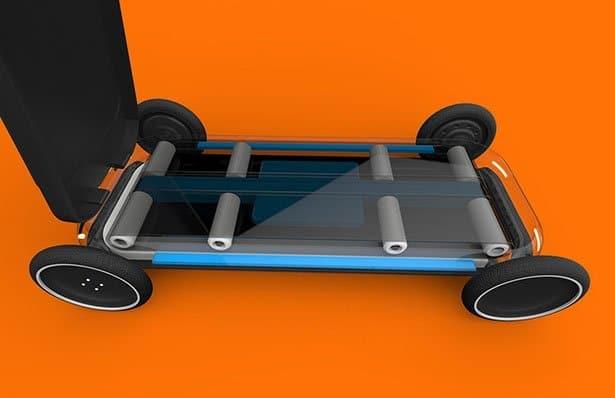ROLO, scooter elettrico autonomo dotato di tapis roulant