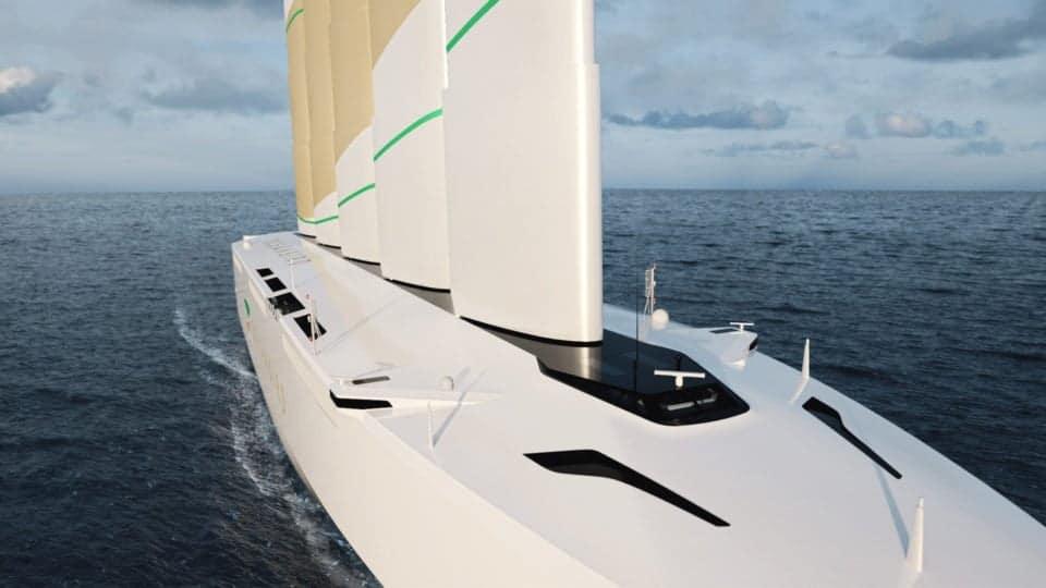 Oceanbird, nave cargo a vela