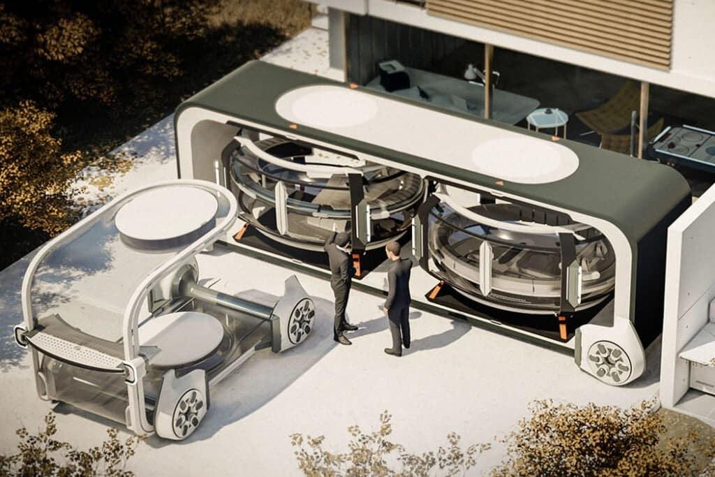 Renault EO, pod futuro come una stanza mobile