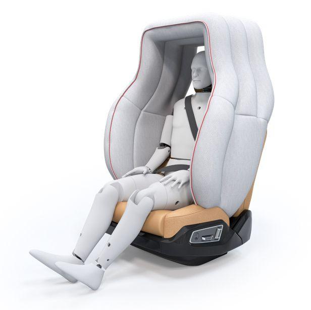 Life Cell sostituirà gli airbag negli abitacoli dei veicoli a guida autonoma