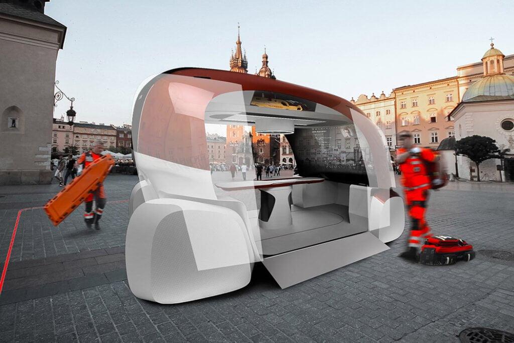 ERKA, ambulanza del futuro