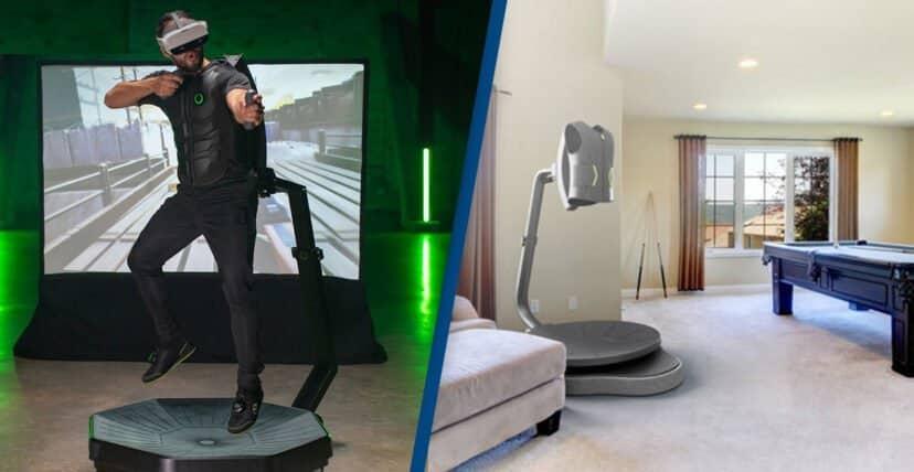 tecnologie futuristiche - Virtuix Omni One, tapis roulant per camminare e correre in realtà virtuale