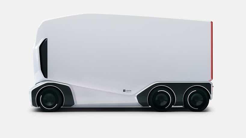 camion elettrici a guida autonoma einride