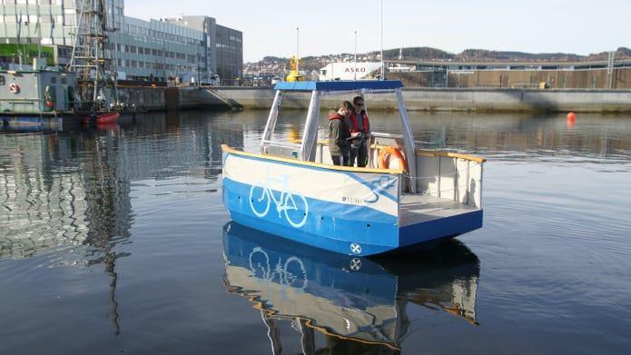 Milliampere, prototipo di traghetto elettrico e autonomo