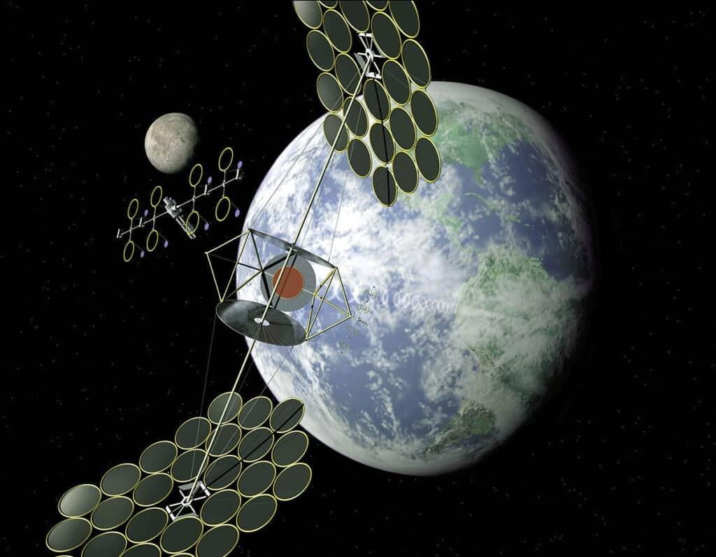 Centrali solari nello spazio per soddisfare il nostro fabbisogno energetico