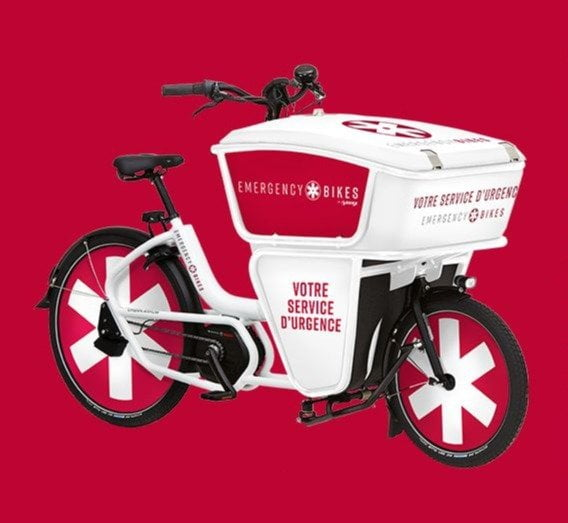 Bici ambulanza Emergency Bike