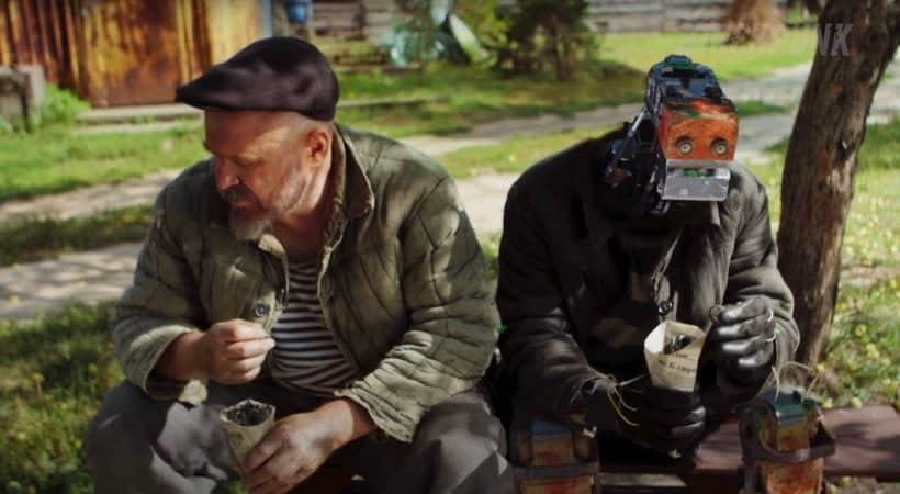 Birchpunk cortometraggio russo cyberpunk fattoria del futuro