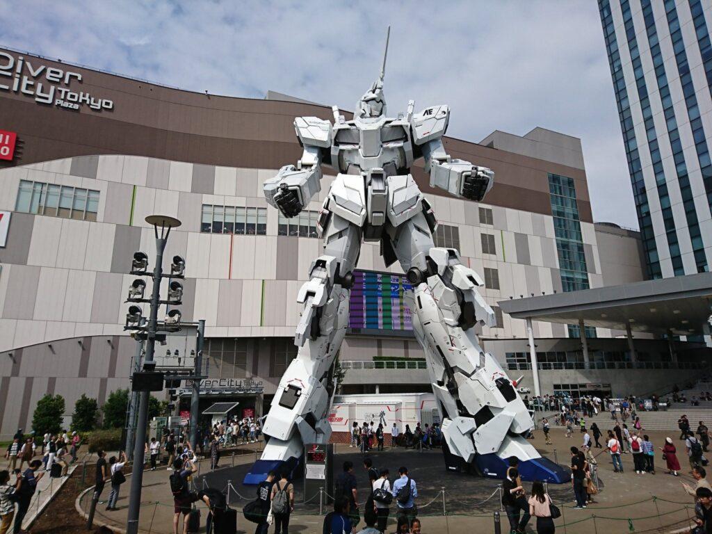 Controllo mentale robot Gundam
