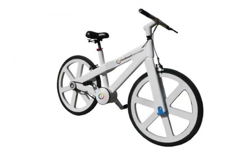 bici del futuro, bici di cartone