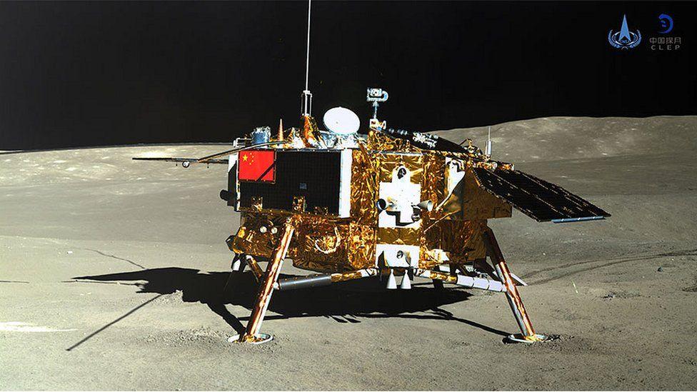 chang'e 4, lander dell'ultima missione lunare cinese