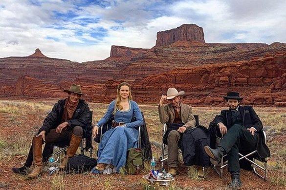 Monolite deserto Utah Westworld