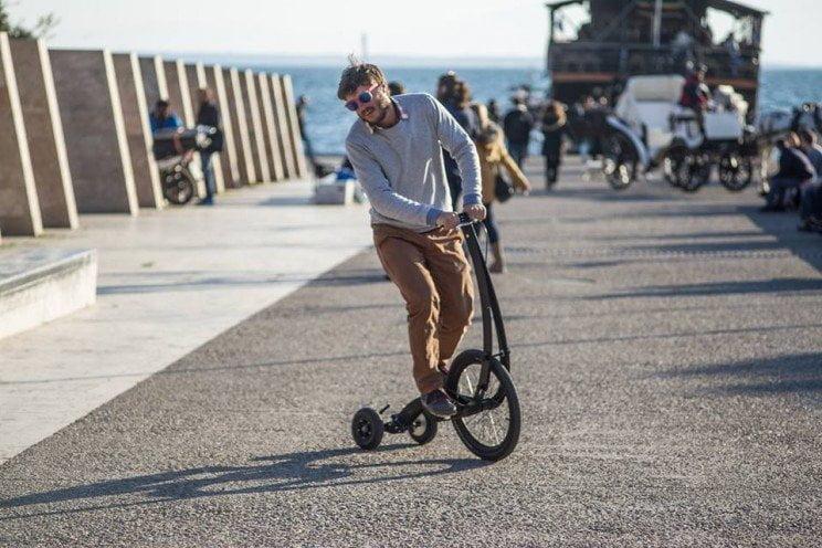 bici del futuro, halfbike