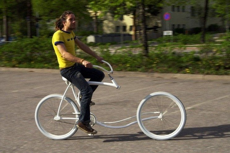 bici del futuro, forkless