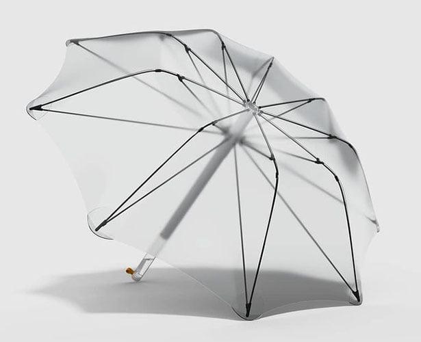 Un ombrello che filtra l'acqua piovana e la rende potabile   FuturoProssimo