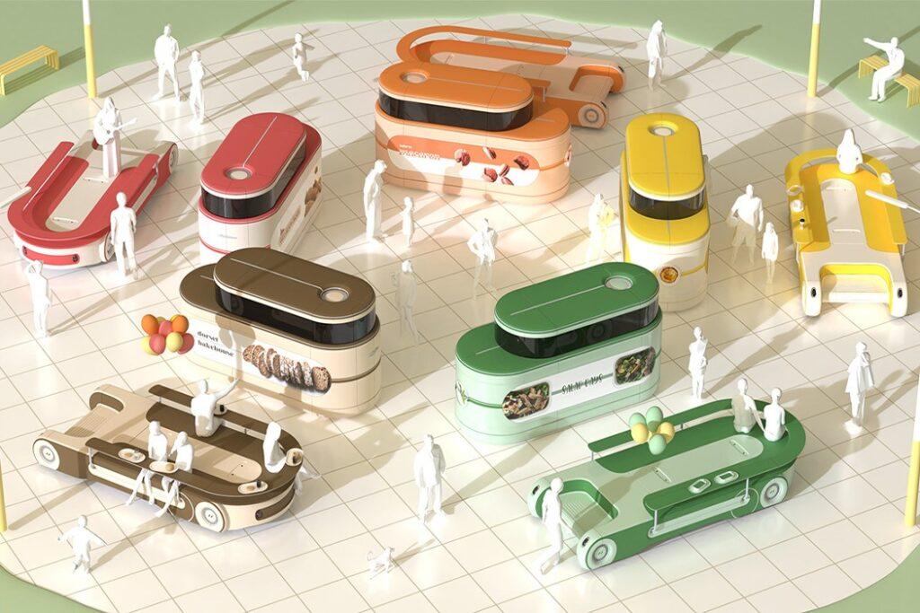 food truck modulari