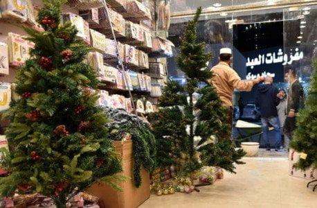 Addobbi natalizi in Arabia Saudita