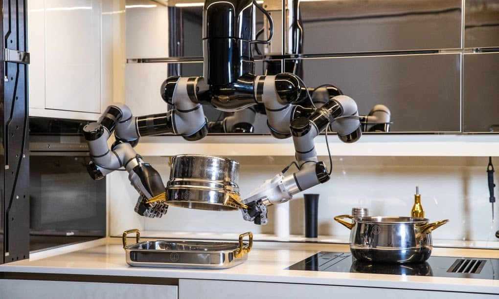Cucina robotica Moley Robotics