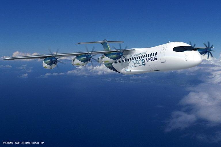 Aereo idrogeno Airbus