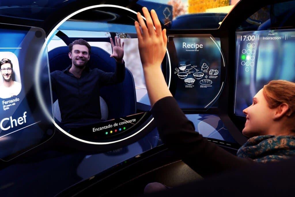 Concept Bubble, veicolo autonomo o rete sociale mobile