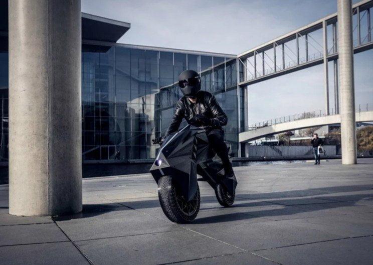 nera ebike moto stampata 3d