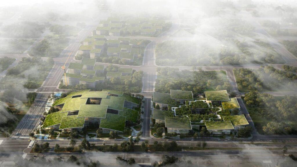 Cloud Valley smart city