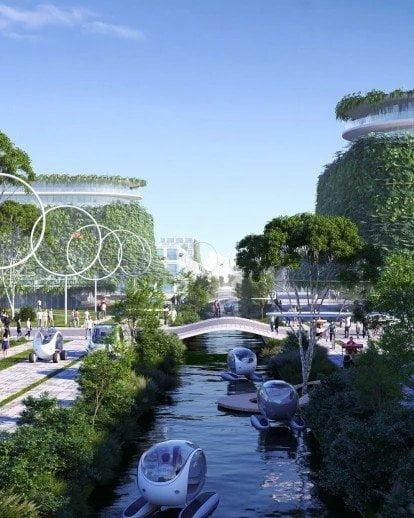 BiodiverCity, Città sostenibile a Penang