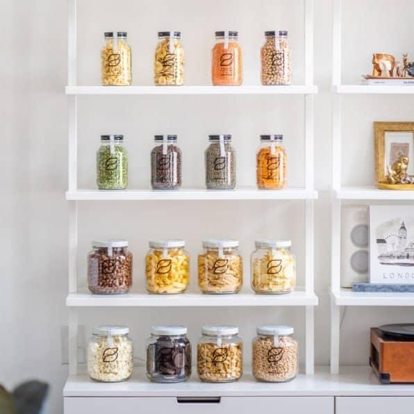 Zero Grocery, la spesa a casa in vetro col vuoto a rendere plastic free