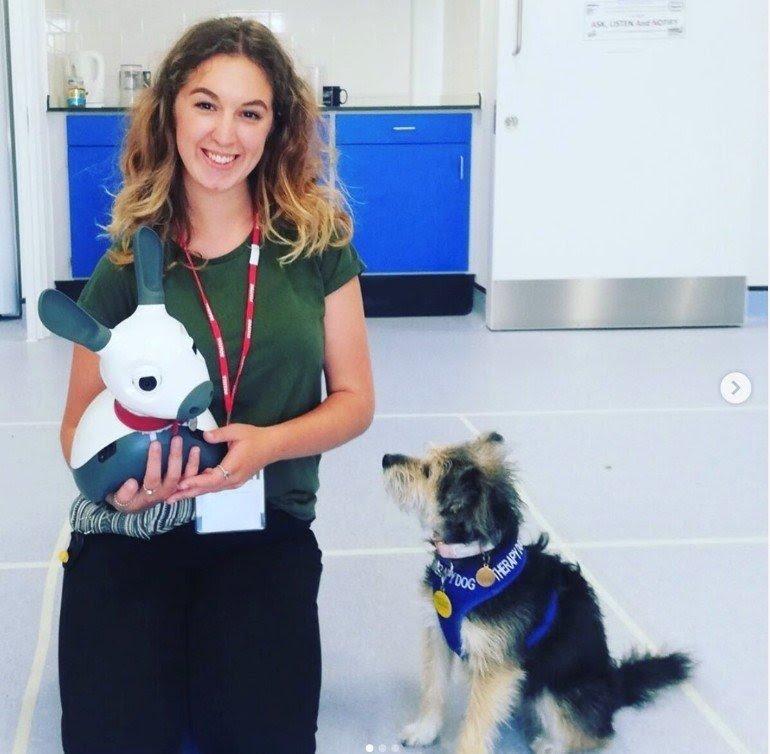 Robot biomimetici per la pet therapy