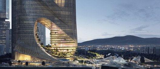 Torre C di Zaha Hadid a Shenzhen