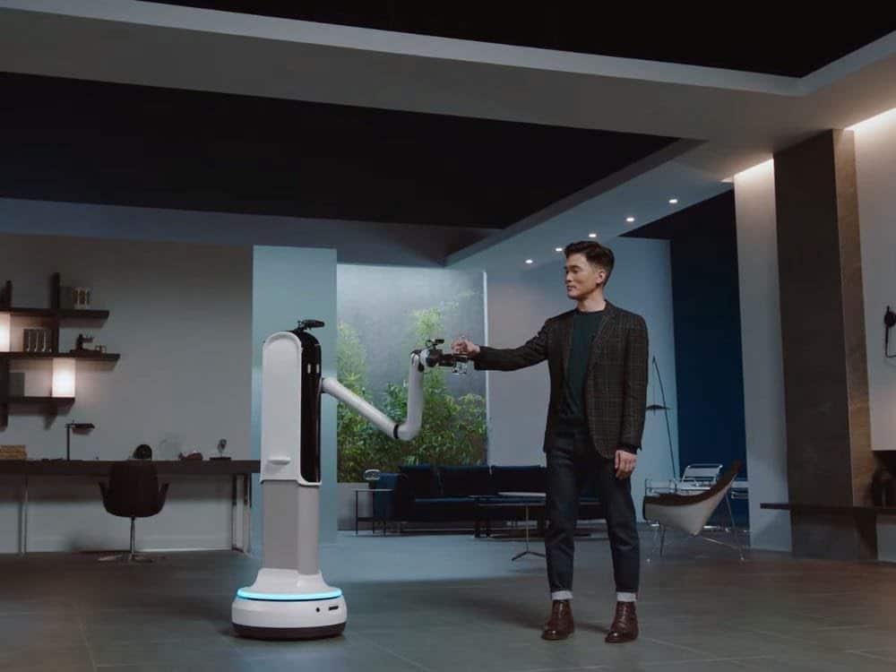 Bot Handy, robot maggiordomo Samsung CES2021