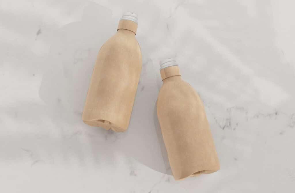 bottiglie e barattoli di cartone
