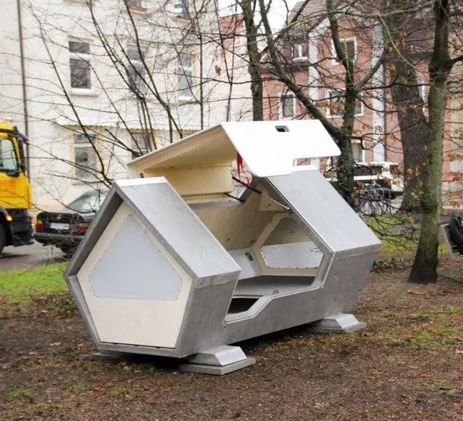 Ulmer Nest, capsule hi-tech per homeless