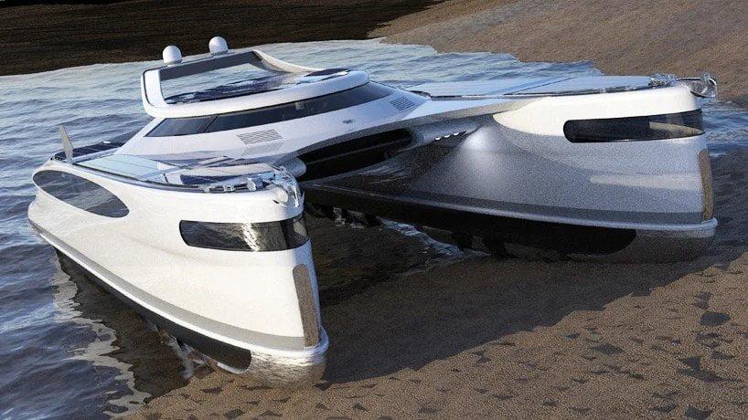 Pagurus, catamarano anfibio