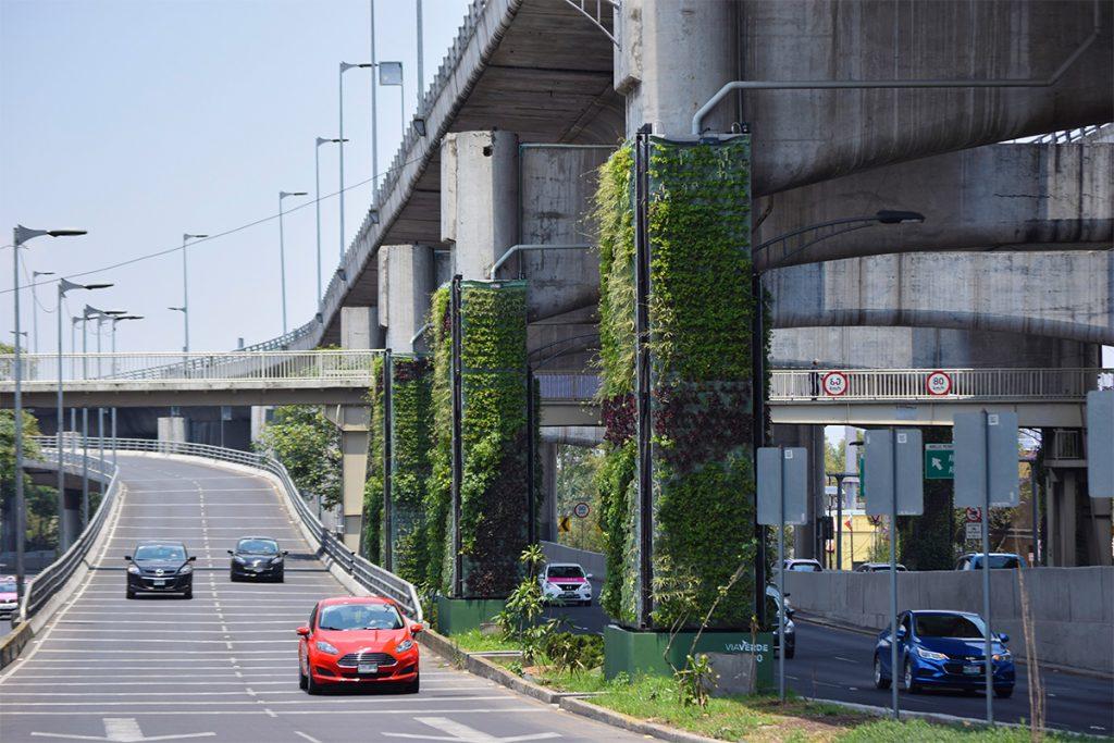 Via Verde, progetto Solarpunk di giardini verticali a Città del Messico