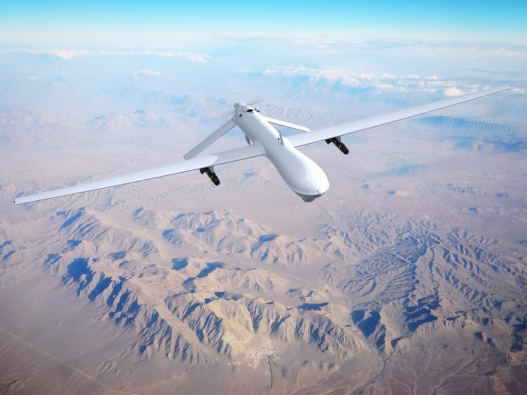 caccia droni