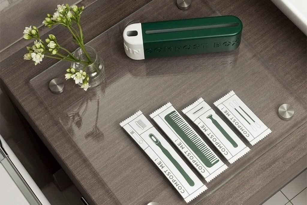 Kit cortesia hotel sostenibilità