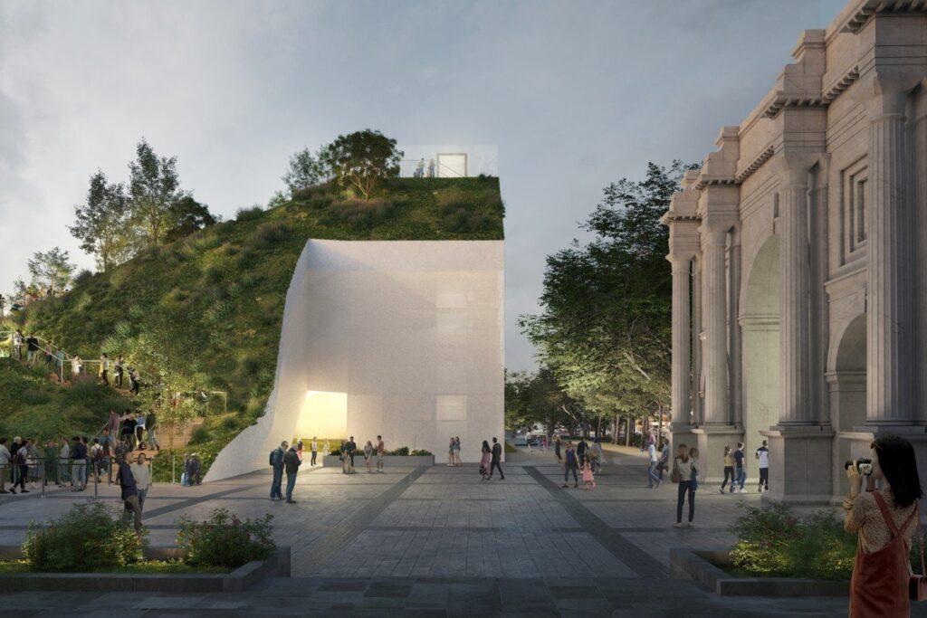 Marble Arch Hill, una nuova collina artificiale a Londra