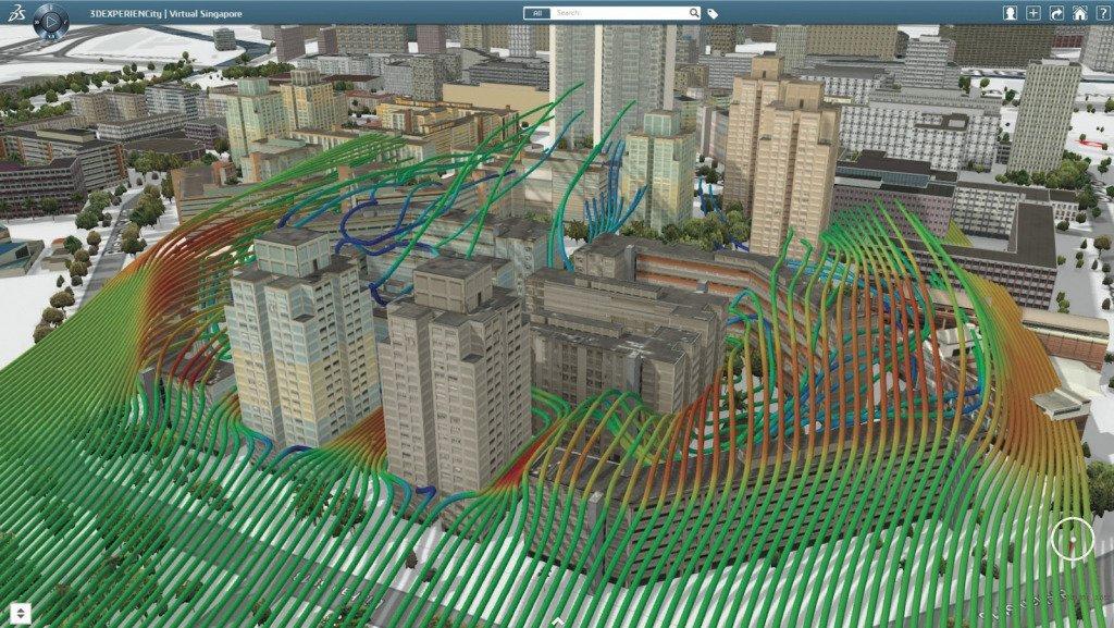 gemello virtuale città
