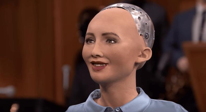 Sophia robot Hanson