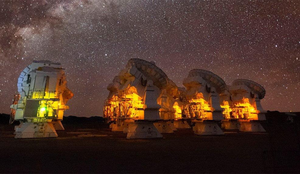 Lebensgrundlagen im Kosmos