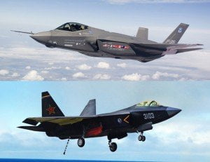 Le somiglianze tra il J31 e l'F-35 sono evidenti.